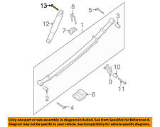 NISSAN OEM Front Suspension-Mount Bolt 011250047U