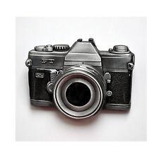 Fotoapparat Fotografie Kamera Foto Gürtel-Schnalle Fotokamera Beltbuckle *223