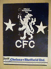 1976/77 Football League Division two Chelsea v Sheffield United 30th April