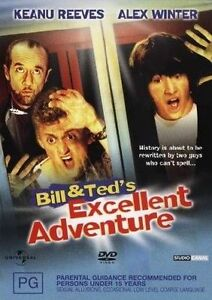 Bill And Ted's Excellent Adventure DVD 2004 Brand New & Sealed
