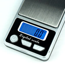 500g x 0.1g Digital Pocket Scale for Jewelry Coins Silver - HB-02 - Free US Ship