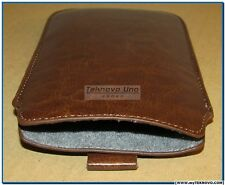 Soft Brown Pouch for HP 10c, HP 11c, HP 12c, HP 12CP, HP 15c, and HP 16c NEW USA