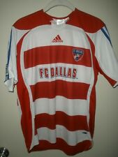 #379 FC Dallas Soccer Adidas Jersey Youth L Clima Cool MLS Football
