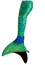 Swimmable Fin Fun Mermaid Tail with Monofin for Swimming -  All Colors and Sizes