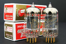 2x NEW Genalex Gold Lion 12AX7 ECC83 B759 Vacuum Tube, Matched Pair