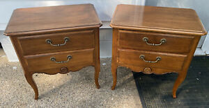 Matched Pair (2) Ethan Allen Country French Nightstands/End Tables 26-5216 #216