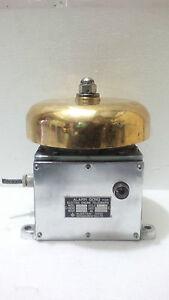 MARINE ALARM GONG FOR ELECTRIC ENGINE TELEGRAPH NUNOTANI KEIKI