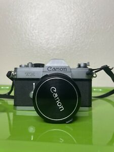 Canon TX Vintage 35mm Film Camera With 50mm 1.8 Lens