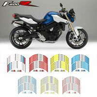 For BMW F800R 17 inch Motorcycle front and rear wheels Edge Outer Rim Sticker-S7
