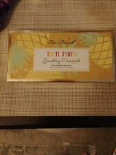 Too Faced TUTTI FRUITI sparkling pineapple Palette NIB . Comes with free brush !