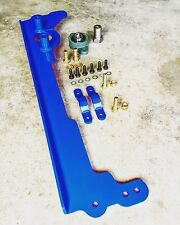 IRONMAN4X4FAB JEEP CHEROKEE XJ STEERING BOX BRACE WITH SECTOR SHAFT SUPPORT