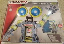 Meccano Tech Meccanoid G15 Personal Robot NEW Parting out. Message for parts
