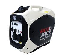 Quiet Portable Suitcase Petrol Inverter Generator 4 Stroke 2200W 12V 240V