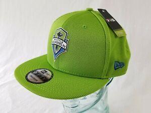 Seattle Sounders FC New Era 9FIFTY MLS Adjustable Snapback Hat Cap Soccer NEW