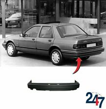 REAR BUMPER WITH STEEL REINFORCEMENT BAR COMPATIBLE WITH FORD SIERRA 87-91 SEDAN