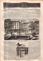1875 Scientific American June 5 - Swinging saloon steamer Bessemer;Balloon falls