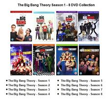 BIG BANG THEORY COMPLETE SERIES 1 2 3 4 5 6 7 8 DVD SET SEASON COLLECTION UK BOX