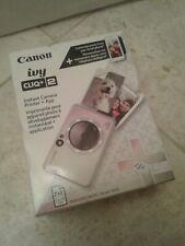 BRAND NEW Canon - Ivy CLIQ+2 Instant Film Camera - METALLIC MOCHA 013803334883
