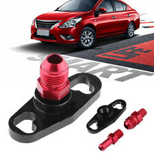 Car Fuel Rail Pressure Regulator Adapter Kit with Fittings for Toyota Nissan
