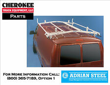 Adrian Steel 63-4, 6ft Double Grip-Lock Ladder Rack for Chevy Astro & GMC Safari