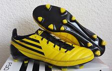 Nuevo adidas f50 ADIZERO TRX FG cuero UK 8 UE 42 botas de fútbol Predator Adipure