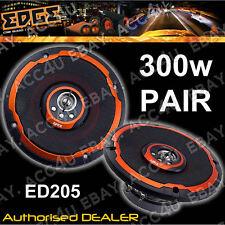"""Edge ED205 5.25"""" Pouces 13 cm 4-Way 300 W Porte Voiture Coaxial Haut-parleurs Set avec grilles"""