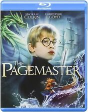 Blu Ray THE PAGEMASTER. MaCaulay Culkin. UK compatible, region free. New.