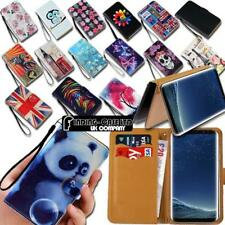 For Samsung Galaxy A 3/5/7/8/9 Leather Smart Stand Wallet Case Cover