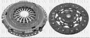 BORG & BECK CLUTCH KIT 2 IN 1 FOR AUDI CLOSED OFF-ROAD VEHICLE Q3 2.0 125 170