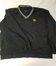 Lands' End UPS black XL golf windshirt sweater pullover shipping