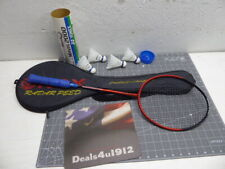 Carlton Airblade Power Ti Badminton Racquet Case and Several Birdies Very Good