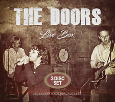 The Doors : Live Box: Legendary Radio Broadcasts CD Box Set 3 discs (2019)
