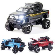 Toyota Tundra Pickup SUV Monster Big Wheels 1:32 Diecast Metal Model 4x4 Car Toy