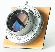 Kodak Commercial Ektar 12 inch F6.3 Lens, #4 Acme Shutter, For 8x10