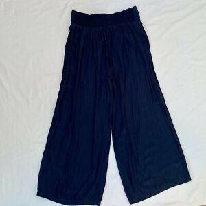 Mela Purdie Womens Wide Leg Pants - Size 12