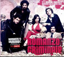 ROMANZO CRIMINALE (OST) Sarcina The Niro Malfunk Marta sui Tubi.. CD NEW SEALED