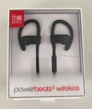 Apple Beats by Dr. Dre Powerbeats3 Black Wireless In-Ear Headphones! Very Nice!