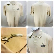 Cutter & Buck  Mens Size XL Jack Links Beef Jerky Beige Polo Golf Shirt    O6