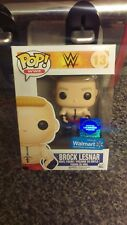 Wwe Brock Lesnar Vinilo Pop Funko Raro Wrestling producto exclusivo de Walmart Bestia