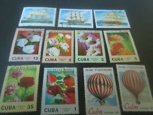 Caribbean island collection #4 stamps