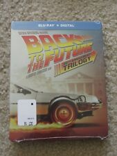Back to the Future Trilogy Blu-Ray Digital HD Steelbook 30th Anniversary Sealed