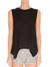 The Fifth Black Fearless Sleeveless Vest T Shirt Tank Top L 12 - 14