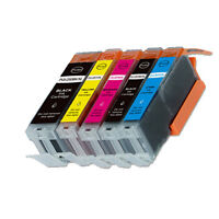 5 PK Printer Ink with chip for Canon 270 271 Pixma TS5020 TS6020 MG6820 MG6821