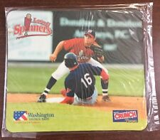Lowell Spinners Official Mouse Pad, Class A Red Sox, Washington Savings Bank