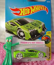 ZOTIC #135✰Sublime Green;TRAP5 white; R✰Art Cars✰2017 US Hot Wheels KMART case F