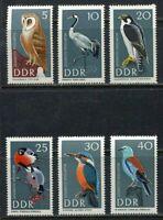 31442) DDR 1967 MNH Birds 6v. Scott #915/20