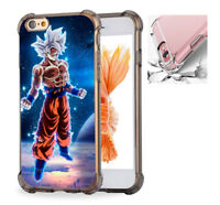 For iPhone X 6 7 8 8Plus Phone Case Cover Goku Ultra Instinct #8115