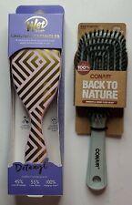 Wet Brush Detangler Pink & Gold Original Box With Free Conair Detangling Brush