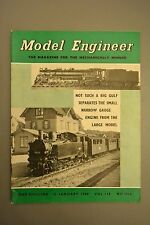 R&L Mag: Model Engineer 16 January 1958 Fire Fighting Trailer PUmp/Boring Tool