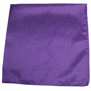 Pack of 30 Uni Style Apparel Plain 100% Polyester 22 x 22 Inch Bandanas